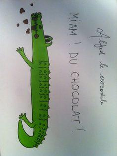 Alfred le crocodile