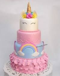 Birthday cake unicorn fun new Ideas Pretty Cakes, Cute Cakes, Beautiful Cakes, Amazing Cakes, Unicorn Birthday Parties, Unicorn Party, Birthday Cake, Unicorn Cakes, Specialty Cakes