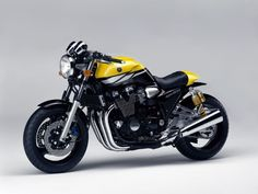 Yamaha XJR1300 cafe concept