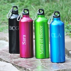 Personalized Color Aluminum Water Bottle