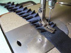 Tatianologia: Изготовление декоративной тесьмы
