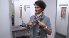 The Italian Touch show you 4 ways to wear a scarf! - YouTube