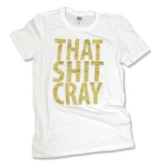 ***ALL ORDERS PLACED ON OR BEFORE DECEMBER 19TH WILL ARRIVE ON OR BEFORE DECEMBER 25TH. MONEY BACK GUARANTEE.***  #THATSHITCRAY