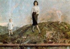 Mieres. 1963. Obra de Antonio López García