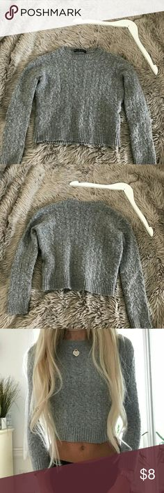 Brandy Melville Corinne Sweater I've only worn this sweater a few times but it went through the dryer on speed cycle , therefore I'm selling it at a low price because it is pilly looking. Standard Brandy Melville sizing Brandy Melville Tops