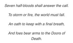 Percy Jackson Prophecies