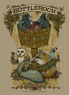 Marq Spusta » Bottlerock Festival Poster
