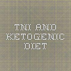 TNI and ketogenic diet