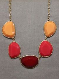 Sophisticated Ombre Necklace via Le Mode Accessories