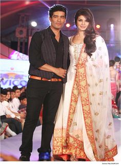 Designer suits by Manish Malhotra for Priyanka Chopra