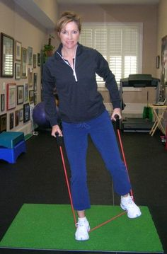 Hip Rotation and Weight Shift - Courtesy of Golf Fitness Magazine; used with permission