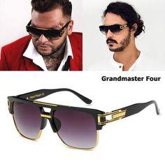 151fe894774 Sunglasses. JackJad New Fashion Brand Design Grandmaster Four Sunglasses  Men Vintage Retro Hip Hop Style Sun Glasses Oculos De Sol Masculino