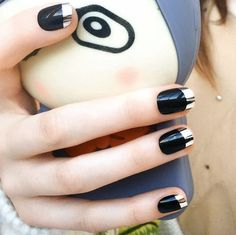 Metallic Nail Art is very popular around the world because they look classy and have the tendency to grab a lot of eyeball since they are shimmery and shiny