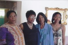 Mom, Aunt Gail, Grandma and cousin Adrienne