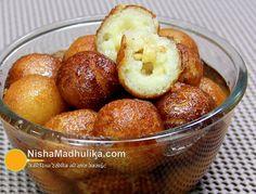 ब्रेड और दूध को मिलाकर बनाये गये गुलाब जामुन भी इतने ही स्वादिष्ट होते हैं, जब तक बताया न जाय कि ये ब्रेड के गुलाब जामुन है तब खाने वाले को वह मावा के ही गुलाब जामुन लगते हैं.  Read Bread Gulab jamun Recipe in Hindi