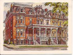 Clinton Street Row Houses Saratoga - Google Search