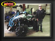 Thanks to Garth Hall from Mendenhall MS for getting a 2017 Can-Am Renegade Xmr 1000R @HattiesburgCycles