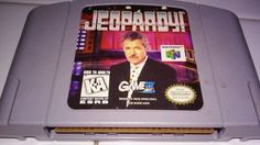 Jeopardy Nintendo N64 Game