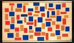 Composición XIII de Theo Van Doesburg