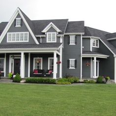 Norandex Woodsman Select Premium Vinyl Siding In Granite