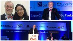 #GeorgeVidor - #Palestrante e #Jornalista - #Evento CMS 11/2015...  #OsMelhoresPalestrantes #PrismaPalestras