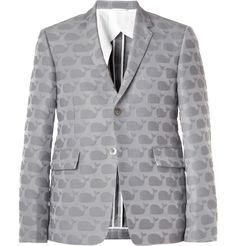 Thom Browne Whale-Patterned Blazer