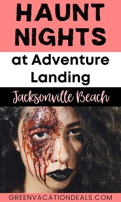 Have you visited Haunt Nights at Adventure Landing in Jacksonville Beach? This is an amazing Halloween event in Florida's First Coast area! You can enjoy the largest 3D Haunt in the area. You'll love the 2 haunted houses. And you can still enjoy fun Adventure Landing attractions like go-karting, mini golf & more! Find out how to save money with a coupon. #JacksonvilleBeach #AdventureLanding #HauntNights #Florida #FirstCoast #Halloween #JackonsvilleFlorida #HauntedHouse #Jax #Halloween2020