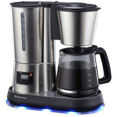 Russel Hobbs Digital Filter Coffee Maker in the Espresso & Coffee Machines category was sold for on 22 Oct at by Binuns Online Homestore in Montanapark Espresso Coffee Machine, Drip Coffee Maker, Russel Hobbs, Coffee Machines, At Home Store, Filters, Stuff To Buy, Design
