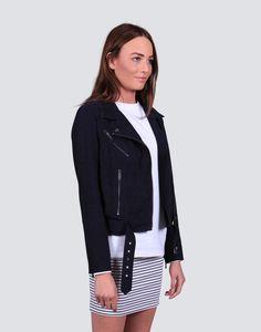 Berlin Suede Jacket | theonlinestore Suede Jacket, Berlin, Minimalist, Teacher, Blazer, Denim, Studio, Jackets, Collection