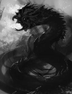Monsters coming II - Naga by Cloister.deviantart.com on @deviantART