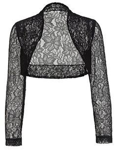 Elegant Lace Crochet Bolero Shrug Cardigan Crop Top for Mom BP49-1 2XL £8