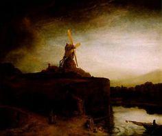 Rembrandt - The Mill, 1648 - O Moinho de Rembrandt