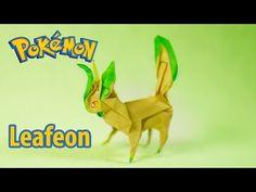 POKEMON - Origami Flareon tutorial (Henry Phạm/Aidan Johnathan) - YouTube