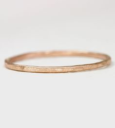 Rose Gold Stacking Ring by Melanie Casey on Scoutmob Shoppe