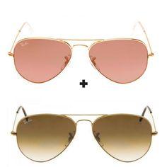 9b49eef701cf9 Kit Com 2 Oculos De Sol Masculino feminino Aviador Escolha