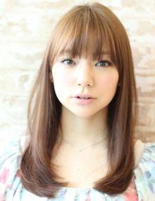 セミロングストレート☆|AFLOAT SKY表参道店スタイリスト、芝本ワタル のブログ