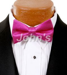 Begonia Simply Solid Bow Tie
