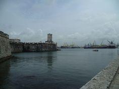 Forteresse (ancienne prison) de Veracruz sur l'eau.