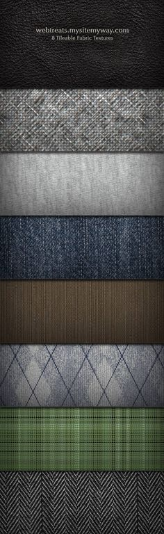 8 Free Tileable Fabric Textures