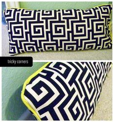 no sew pillows with hem tape