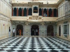 Mor chowk, City Palace, Udaipur