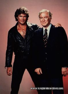 MPOWER/// Michael Knight and Devon Miles: The Hoff and the late, great EdwardMulhare join forces in one of the earliest Knight Rider photoshoots from Best American Tv Series, Kitt Knight Rider, Male Harem, 80 Tv Shows, Old Tv, Drama Movies, Series Movies, Universal Studios, Best Tv
