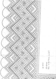 Puntillas Crochet Patrones Abanico Ideas For 2020 Crochet Mens Scarf, Easy Crochet Hat, Easy Crochet Stitches, Crochet Lace Edging, Easy Knitting Patterns, Christmas Crochet Blanket, Striped Crochet Blanket, Diy Crafts Knitting, Fast Crochet