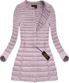 Dlhá dámska prechodná bunda antická ružová x7148X Winter Jackets, Outfit, Clothes, Fashion, Silk, Winter Coats, Outfits, Outfits, Moda