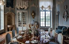 Photos of chateau de villette | THE HERITAGE COLLECTION French Country Rug, French Country Bedrooms, French Country Living Room, French Cottage, Shabby Cottage, Cottage Chic, French Interior, French Decor, French Country Decorating