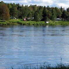 Camp area in Rovaniemi City Finland