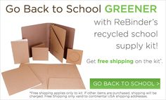 ReBinder is the leading manufacturer of unique green office supplies. All ReBinder product materials are sourced from verified FSC and SFI certified sources and assembled by a local, AbilityOne certified disabled workforce.