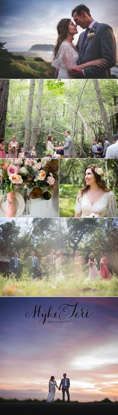 Big Sur Wedding #bohowedding #bohobride #destinationwedding www.mykeandteriphotography.com