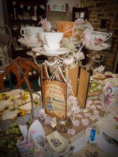 Alice in Wonderlad themed tea party