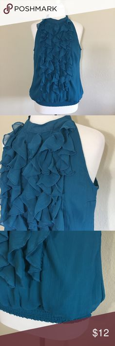 Mossimo Teal Sleeveless Top Size M ! Mossimo Supply Co. Tops Blouses